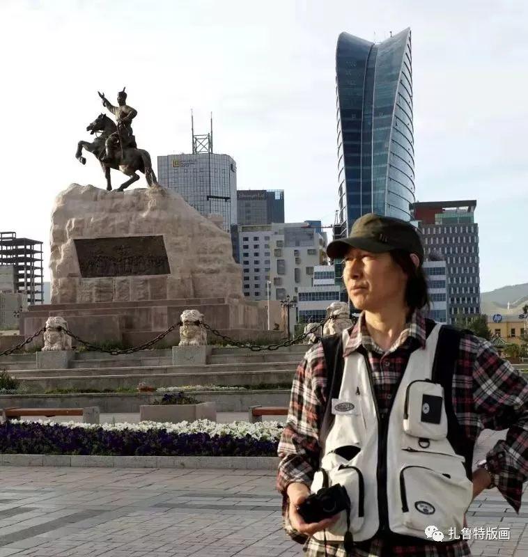 草原文化传承之星--佟金峰 第1张 草原文化传承之星--佟金峰 蒙古画廊