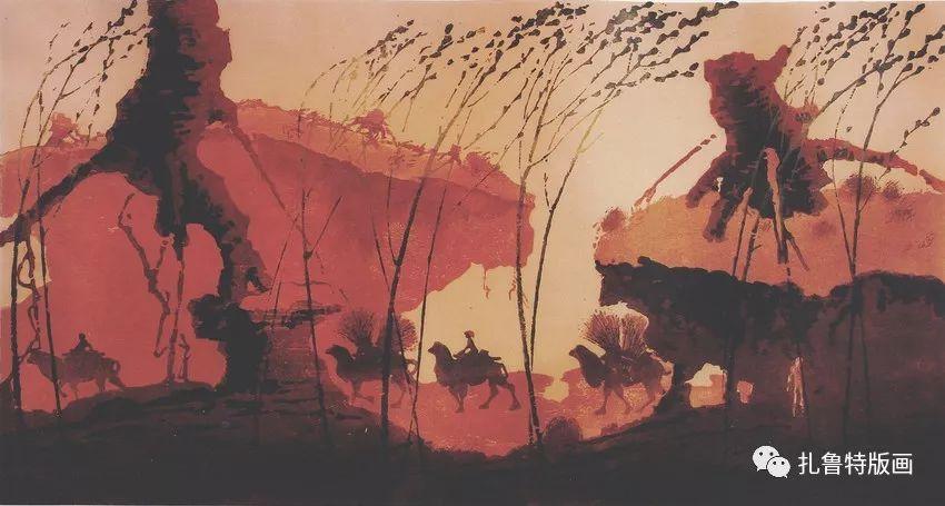 金星铎版画作品欣赏 第5张