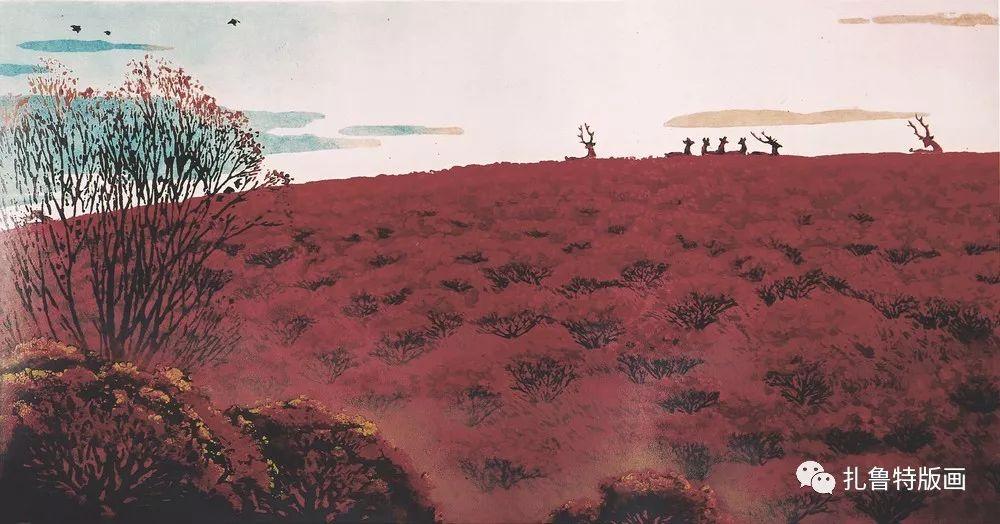 金星铎版画作品欣赏 第26张