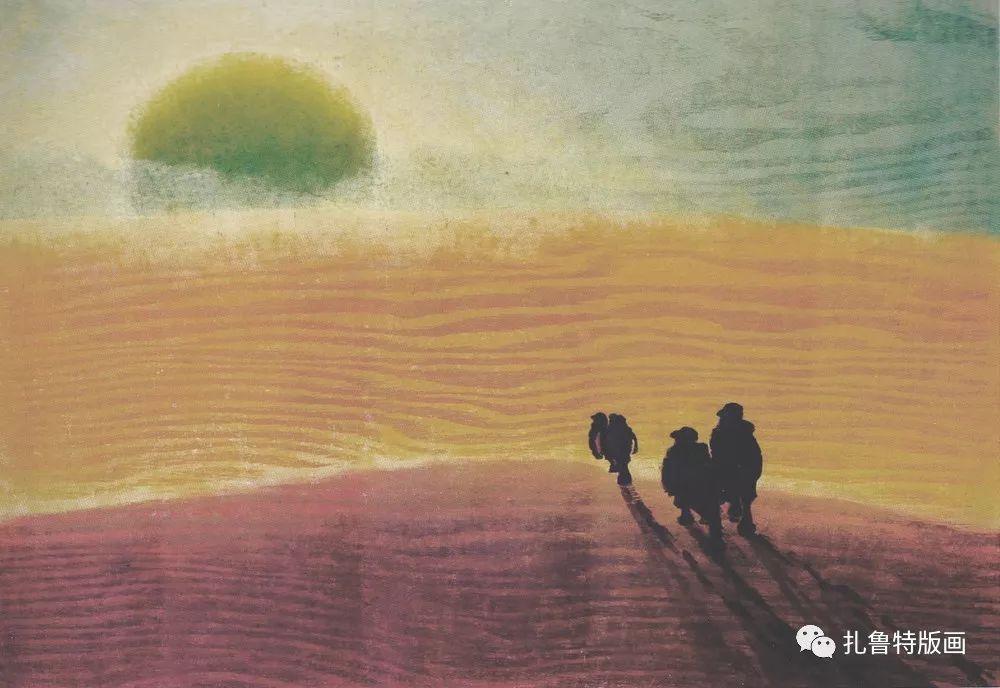金星铎版画作品欣赏 第28张