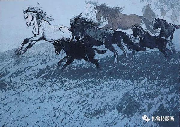 照日格图简介 第4张 照日格图简介 蒙古画廊