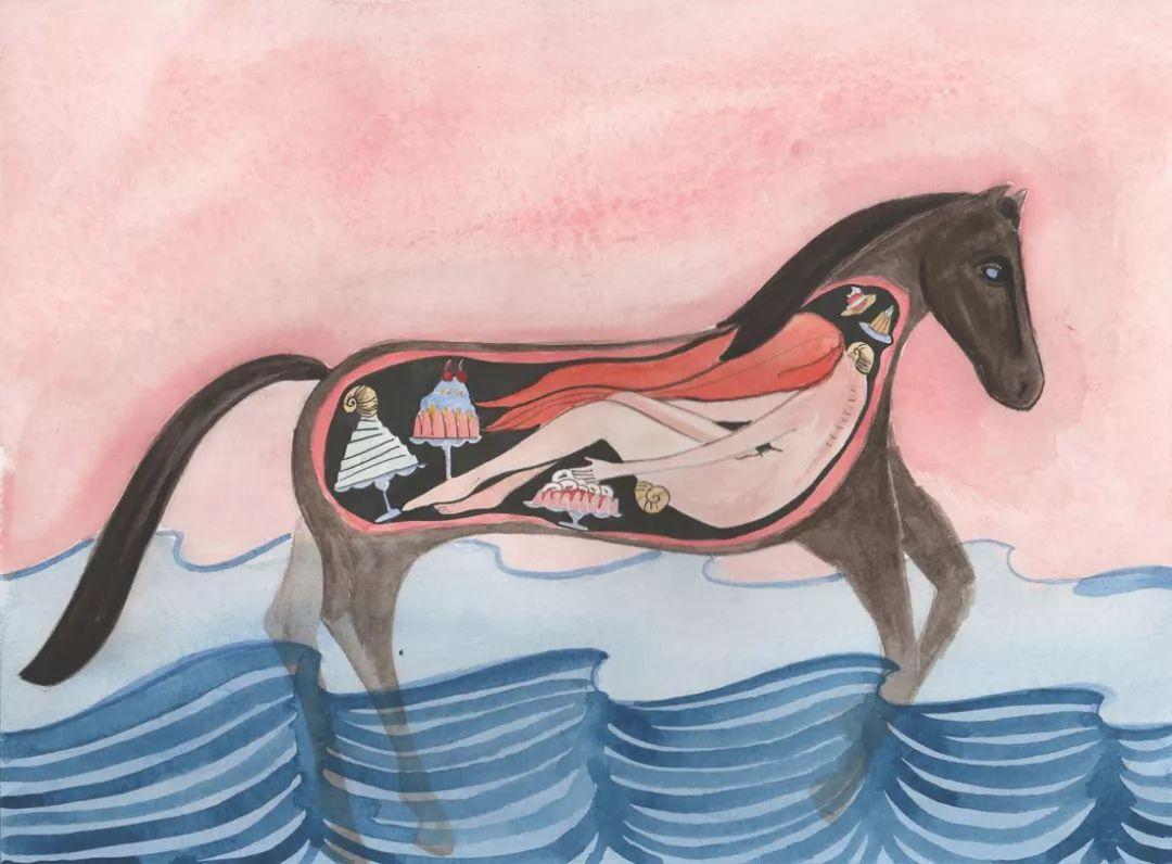 美国Dana Sherwood新的插画探讨了蒙古游牧部落 第8张 美国Dana Sherwood新的插画探讨了蒙古游牧部落 蒙古画廊