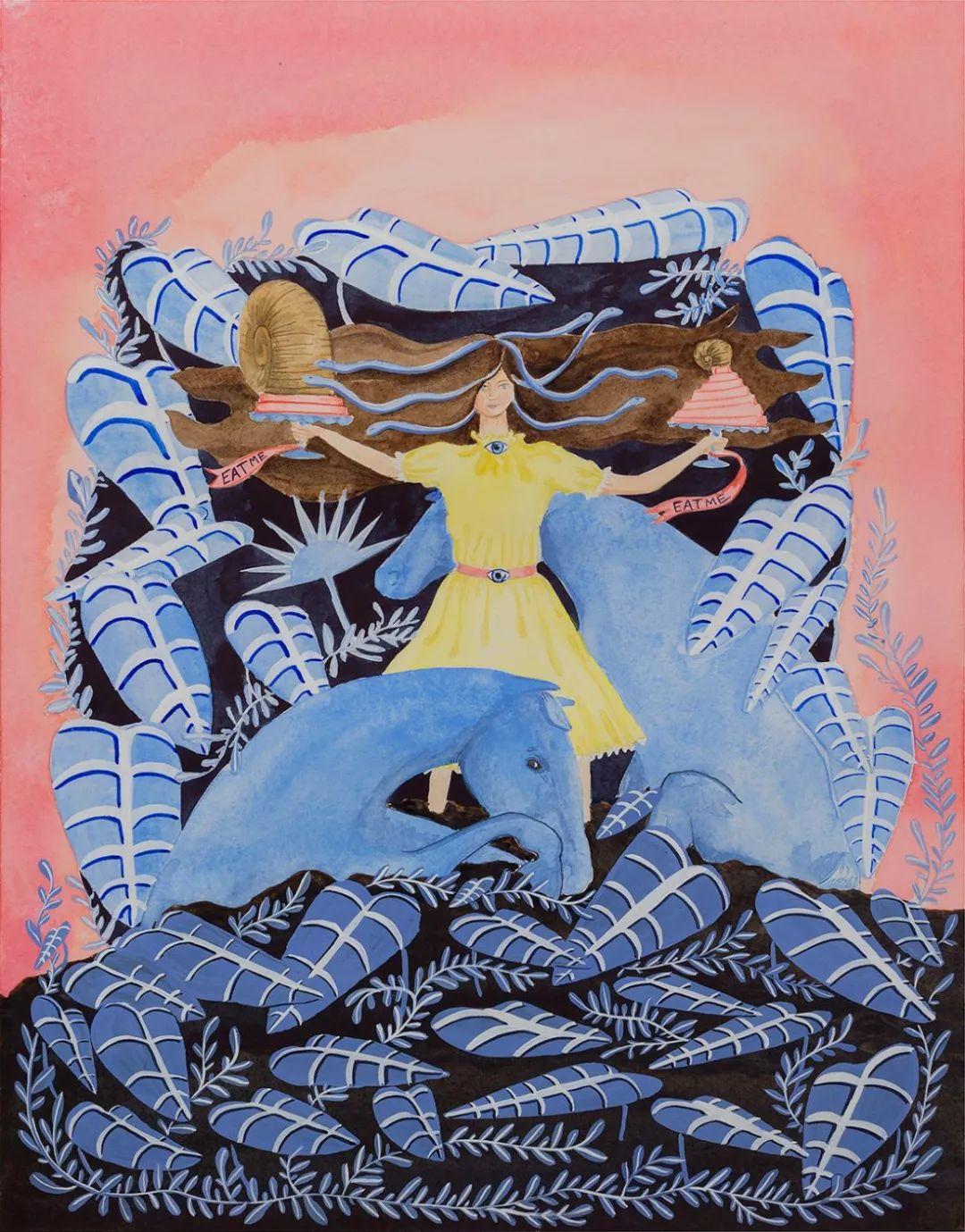 美国Dana Sherwood新的插画探讨了蒙古游牧部落 第10张 美国Dana Sherwood新的插画探讨了蒙古游牧部落 蒙古画廊