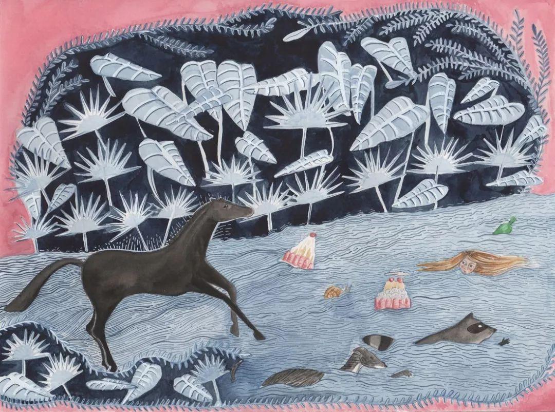 美国Dana Sherwood新的插画探讨了蒙古游牧部落 第11张 美国Dana Sherwood新的插画探讨了蒙古游牧部落 蒙古画廊