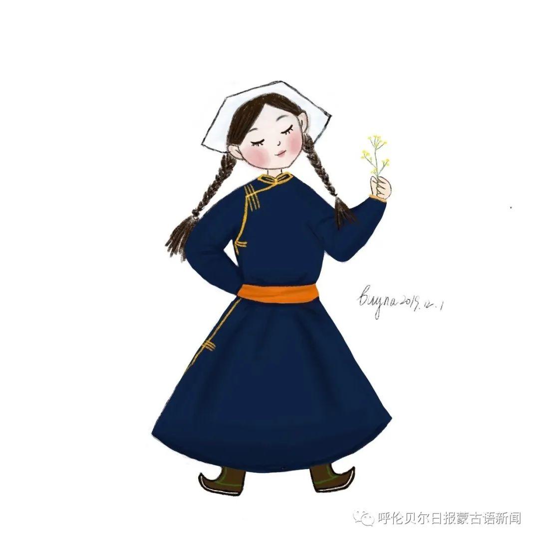 呼伦贝尔元素治愈系插图  我心融化了!(Mongol) 第36张