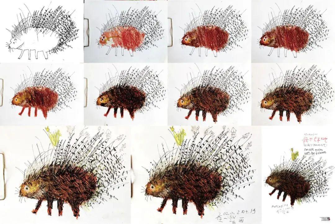 6岁蒙古族小设计师用插画拯救野生动物,为抗疫助力! 第4张