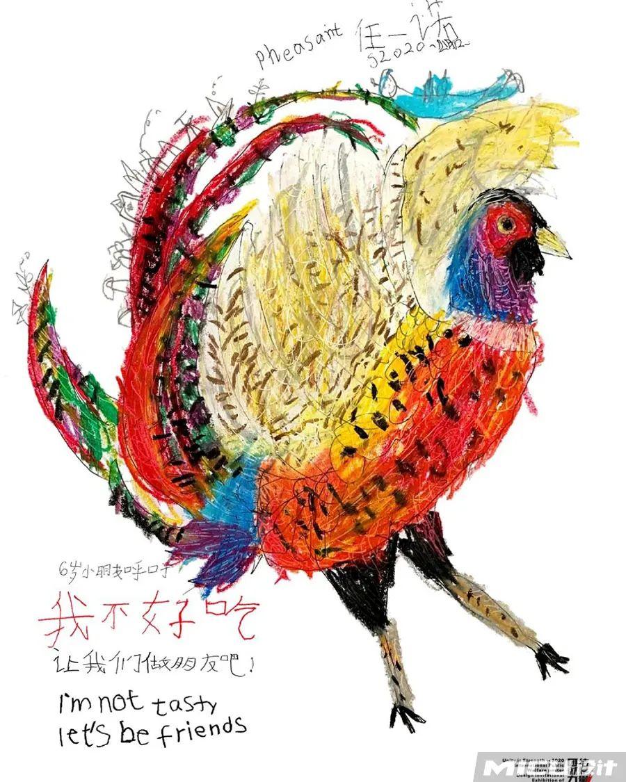 6岁蒙古族小设计师用插画拯救野生动物,为抗疫助力! 第25张
