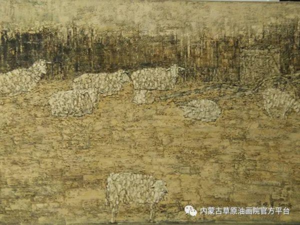 内蒙古草原油画院画家燕小军油画作品选 第2张