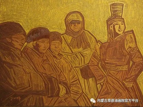 内蒙古草原油画院画家燕小军油画作品选 第10张