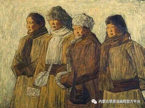 内蒙古草原油画院画家燕小军油画作品选 第9张