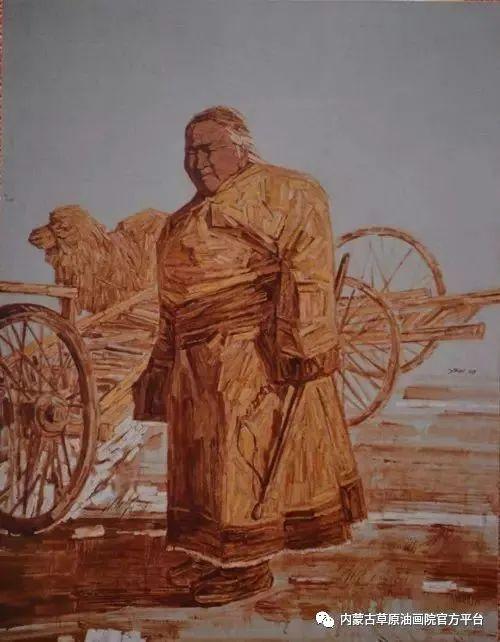 内蒙古草原油画院画家燕小军油画作品选 第3张