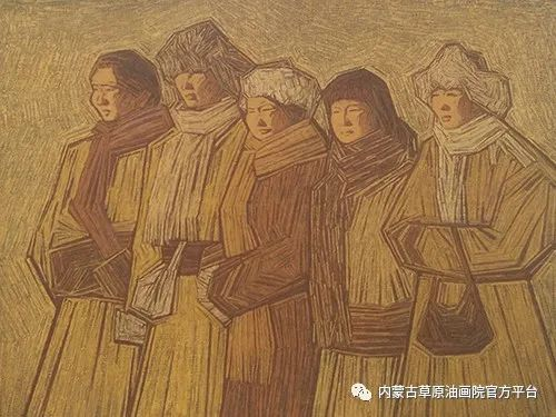 内蒙古草原油画院画家燕小军油画作品选 第12张