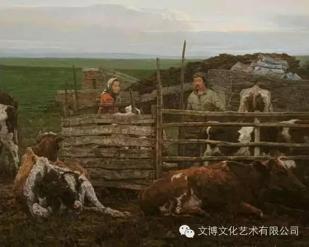 内蒙古油画家—张可扬 第1张