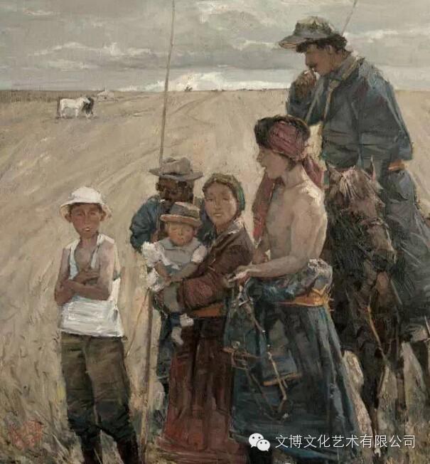 内蒙古油画家—张可扬 第2张