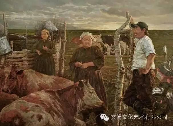 内蒙古油画家—张可扬 第6张