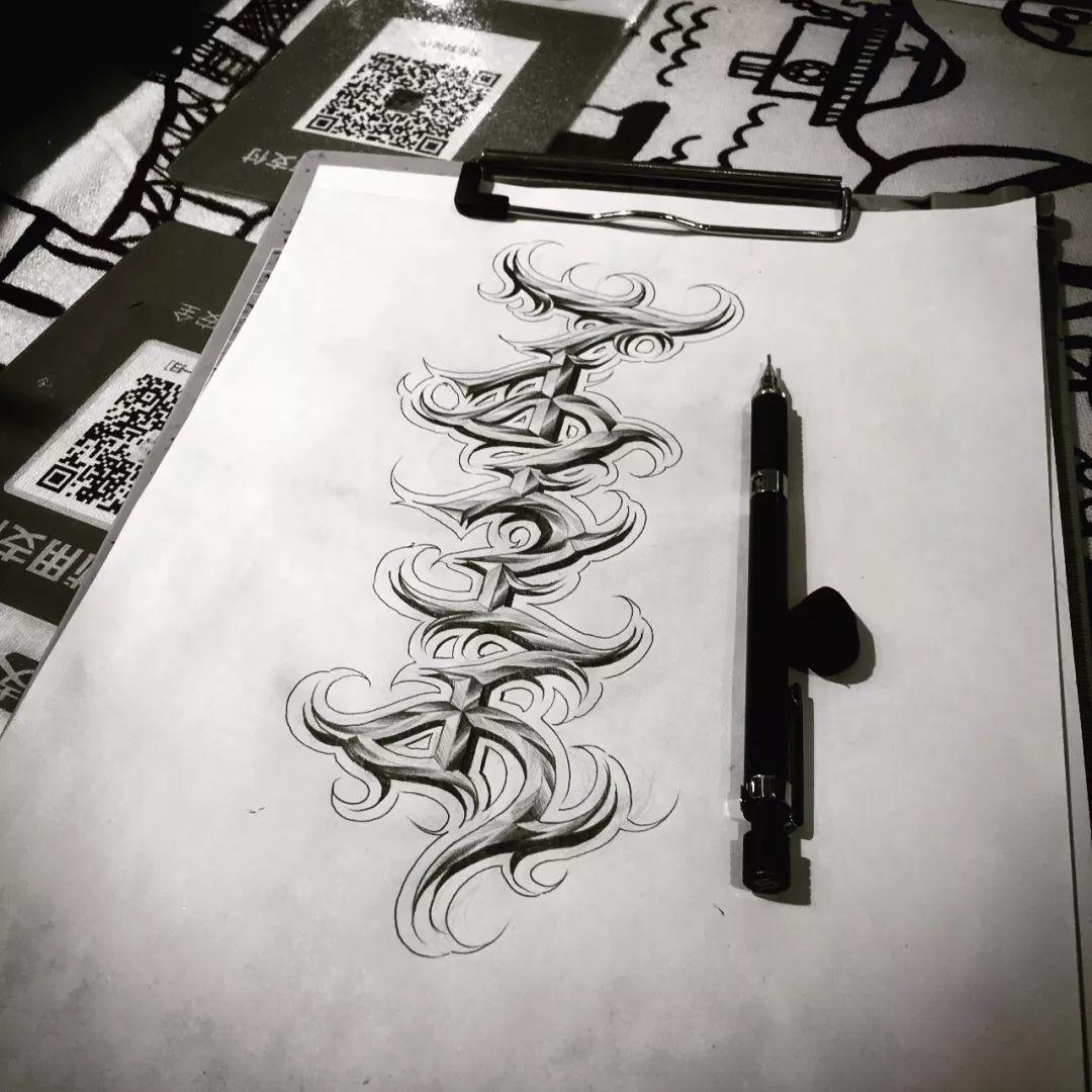 【蒙古匪帮字体】Mongolian Gangsta Lettering 第5张 【蒙古匪帮字体】Mongolian Gangsta Lettering 蒙古设计