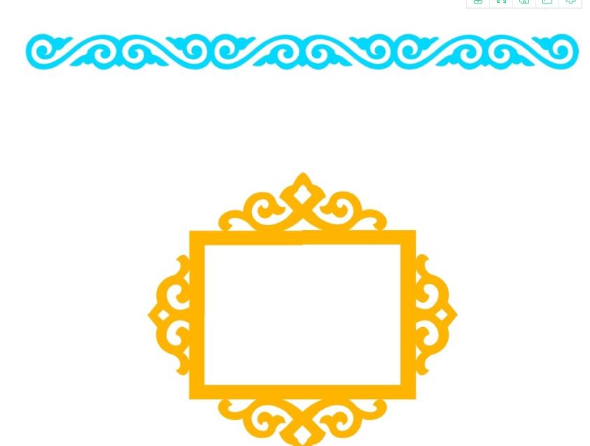 蒙古框图案