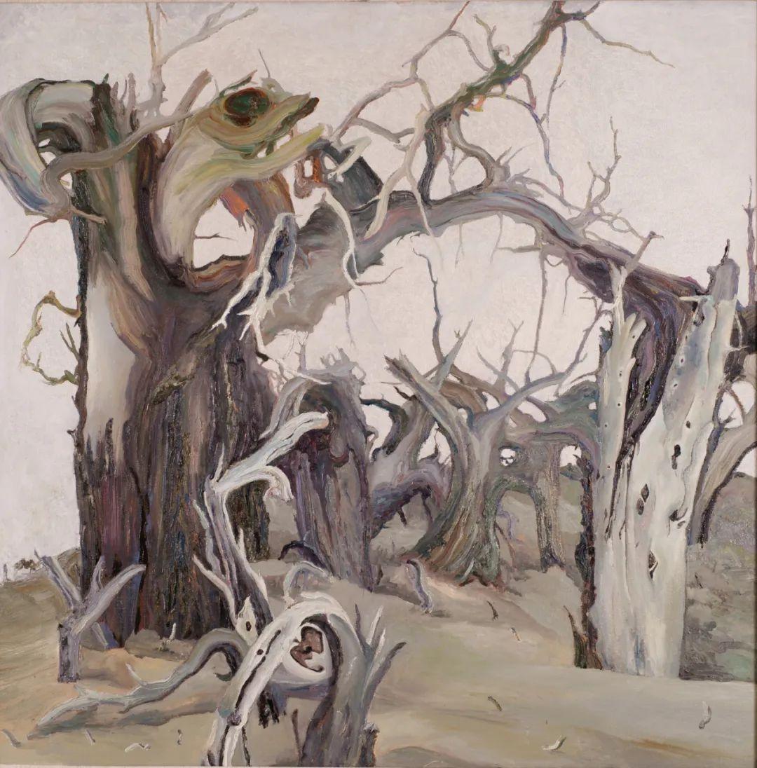 画胡杨的乌日娜丨肖亦农 第8张 画胡杨的乌日娜丨肖亦农 蒙古画廊