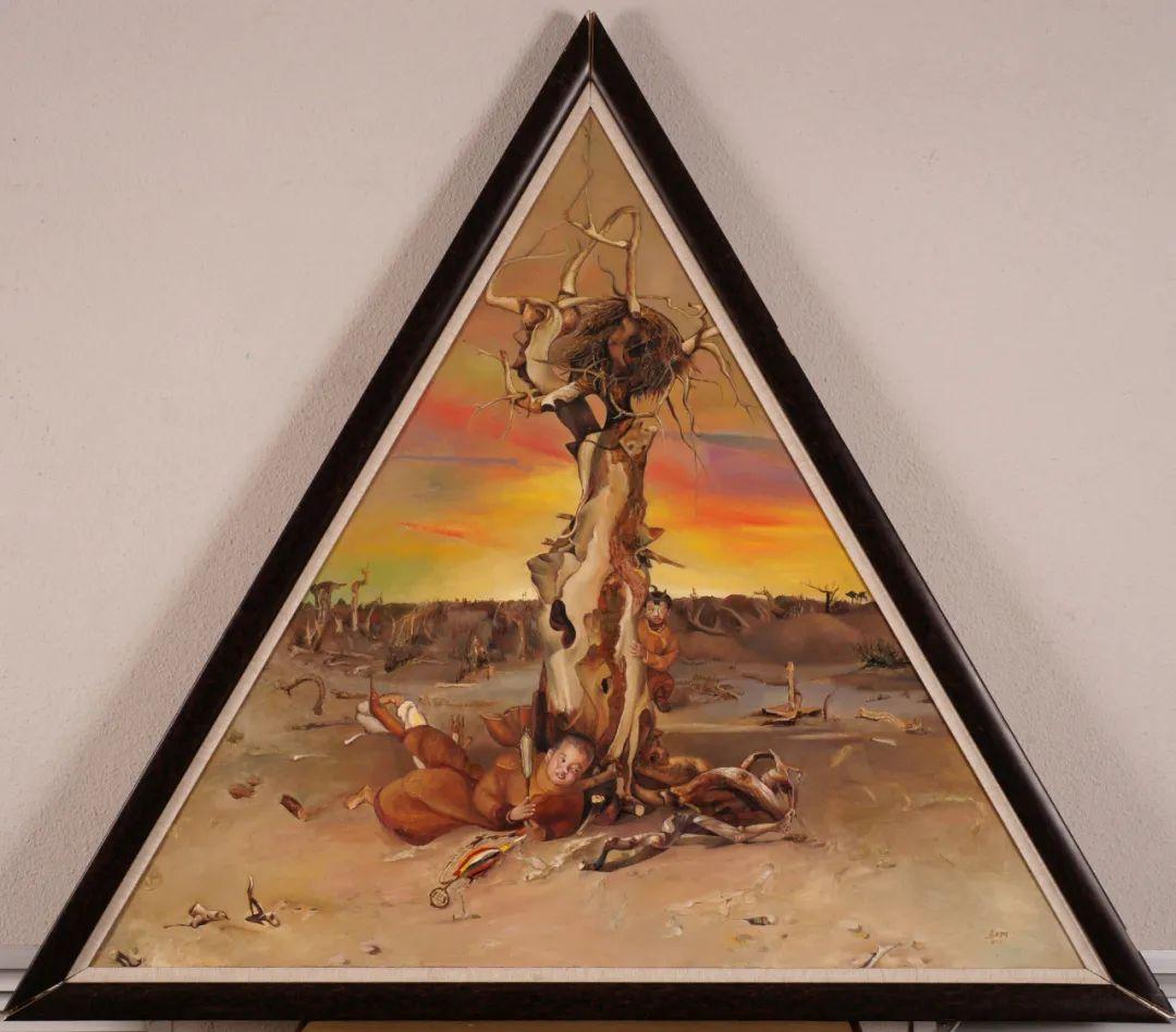 画胡杨的乌日娜丨肖亦农 第18张 画胡杨的乌日娜丨肖亦农 蒙古画廊