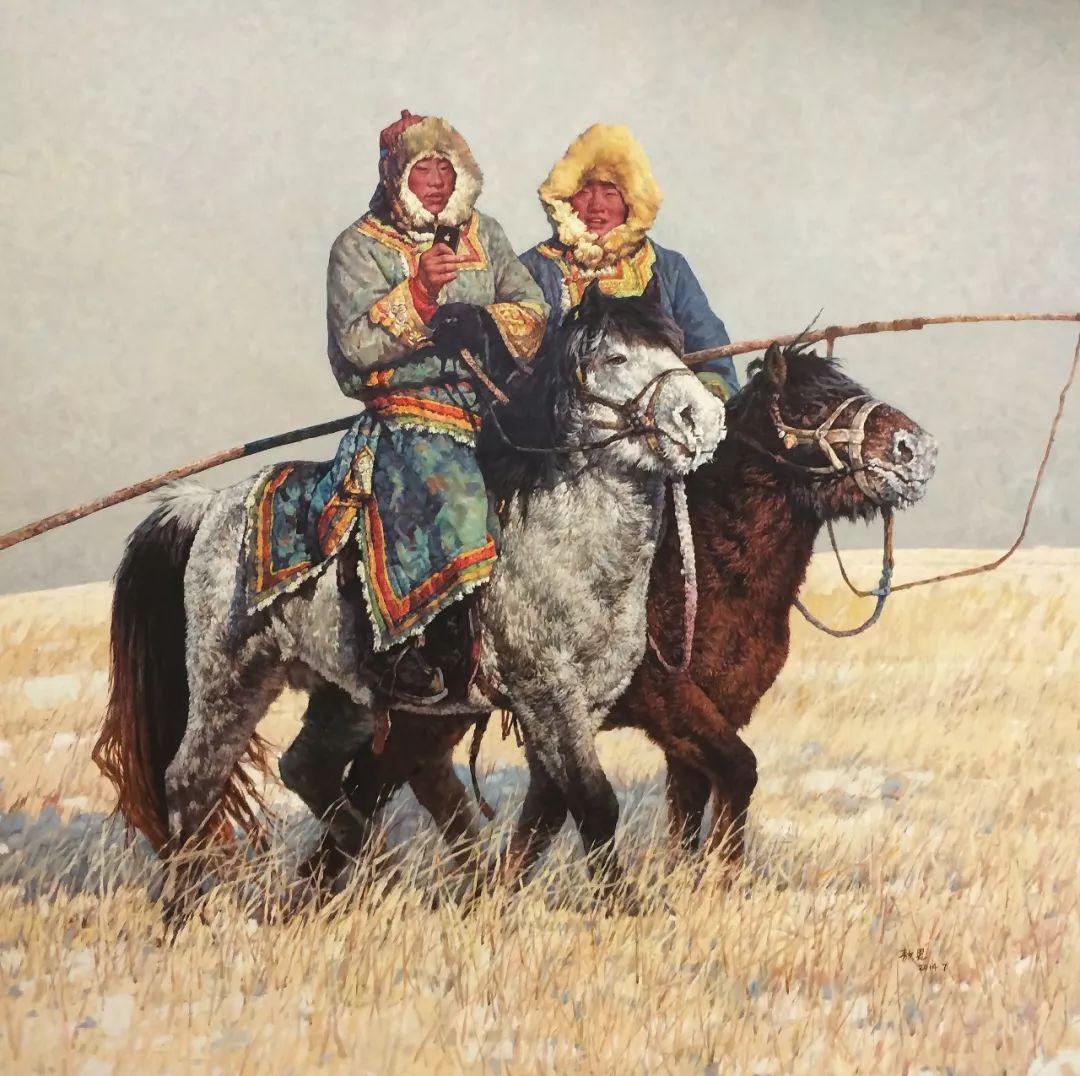 蒙古马  内蒙古当代美术作品微展(三) 第1张