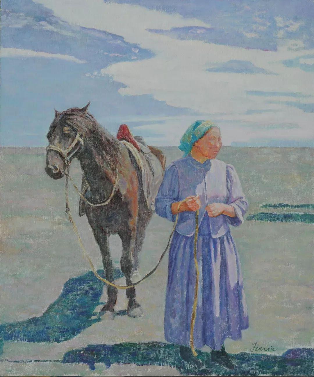 蒙古马  内蒙古当代美术作品微展(三) 第7张
