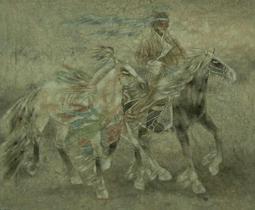 蒙古马  内蒙古当代美术作品微展(三) 第12张