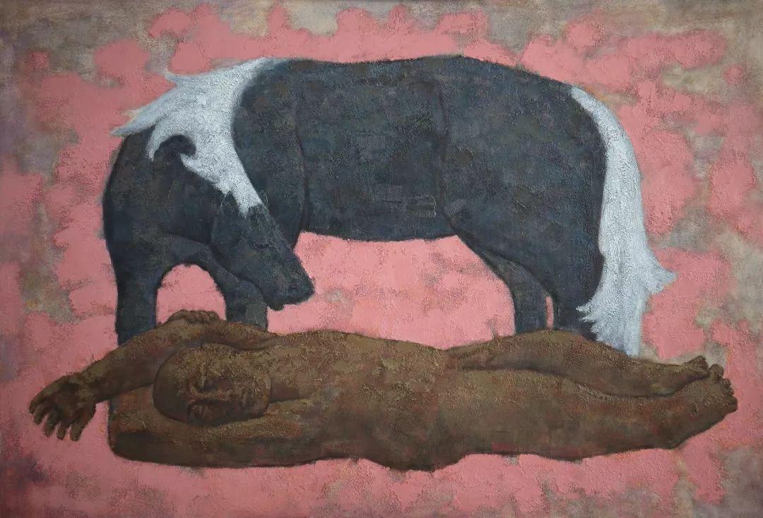 蒙古马 内蒙古当代美术作品微展(二) 第7张 蒙古马 内蒙古当代美术作品微展(二) 蒙古画廊