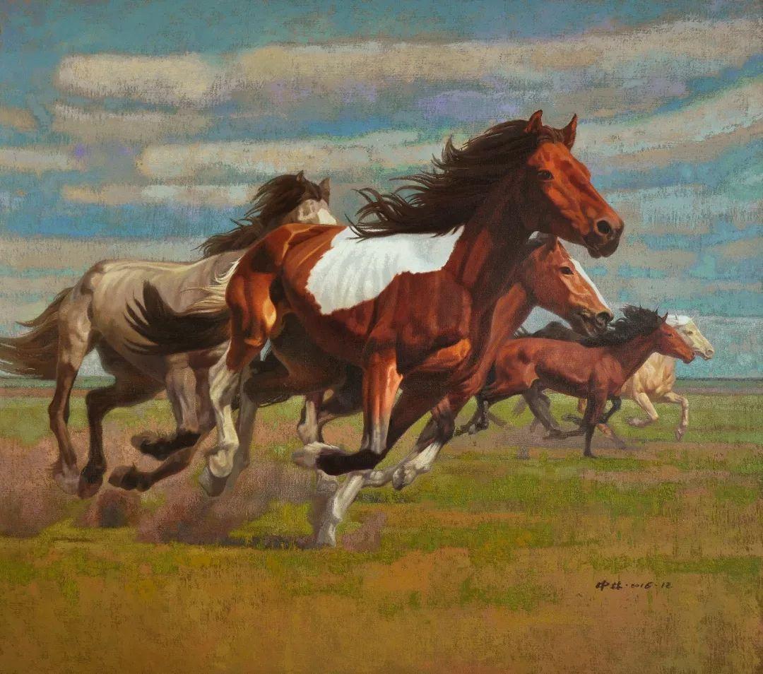 蒙古马 内蒙古当代美术作品微展(二) 第18张 蒙古马 内蒙古当代美术作品微展(二) 蒙古画廊