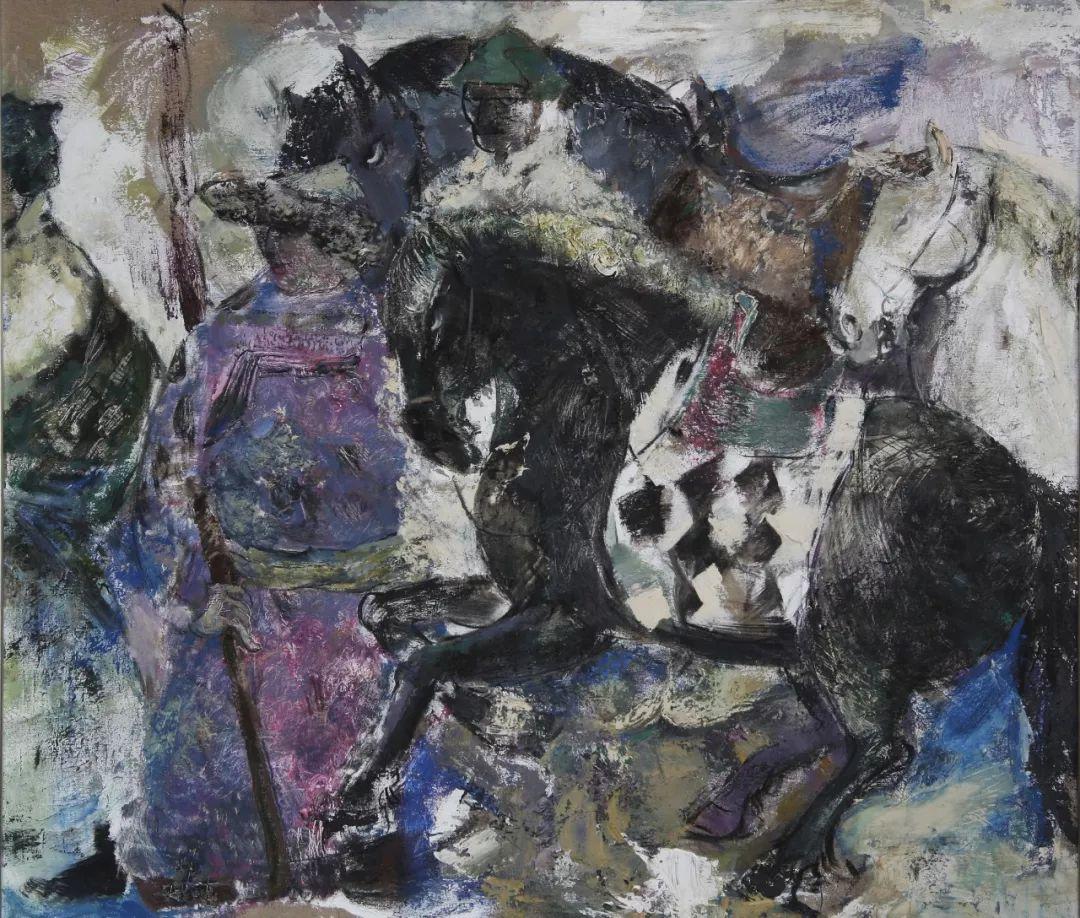 蒙古马 内蒙古当代美术作品微展(二) 第20张 蒙古马 内蒙古当代美术作品微展(二) 蒙古画廊