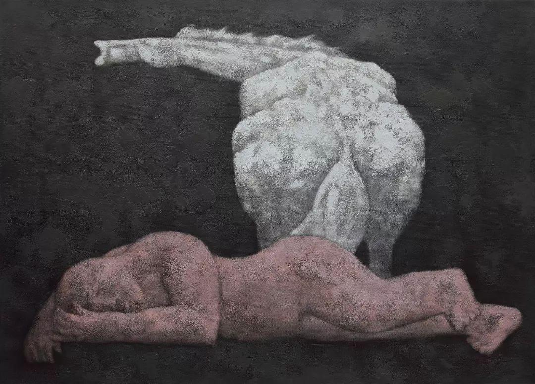 蒙古马  内蒙古当代美术作品微展(一) 第18张 蒙古马   内蒙古当代美术作品微展(一) 蒙古画廊