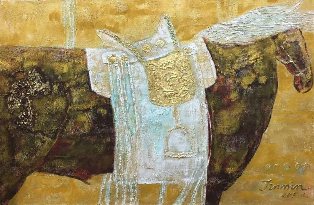 蒙古马  内蒙古当代美术作品微展(一) 第17张 蒙古马   内蒙古当代美术作品微展(一) 蒙古画廊