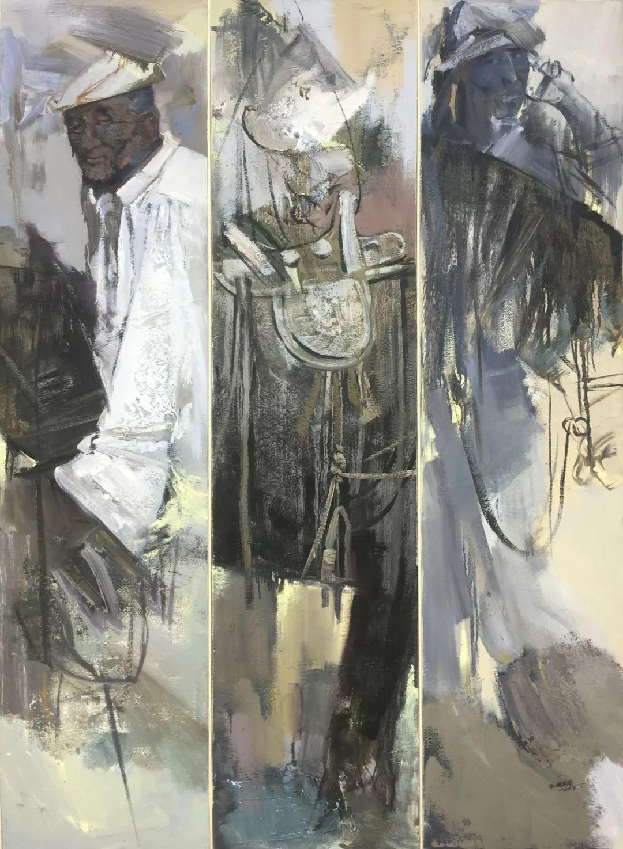 蒙古马  内蒙古当代美术作品微展(一) 第20张 蒙古马   内蒙古当代美术作品微展(一) 蒙古画廊