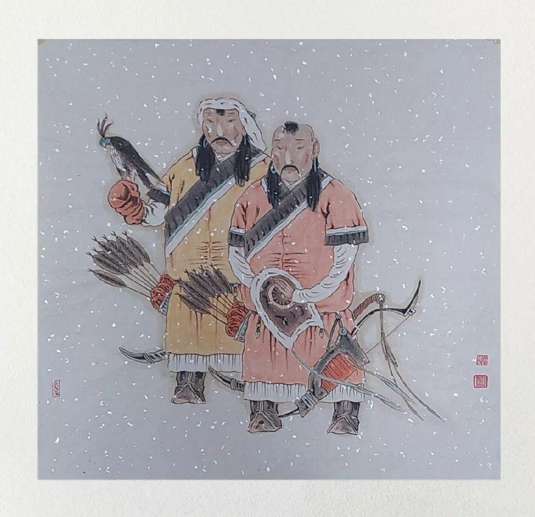 内蒙古当代美术家系列——白嘎力中国画作品选 第6张 内蒙古当代美术家系列——白嘎力中国画作品选 蒙古画廊