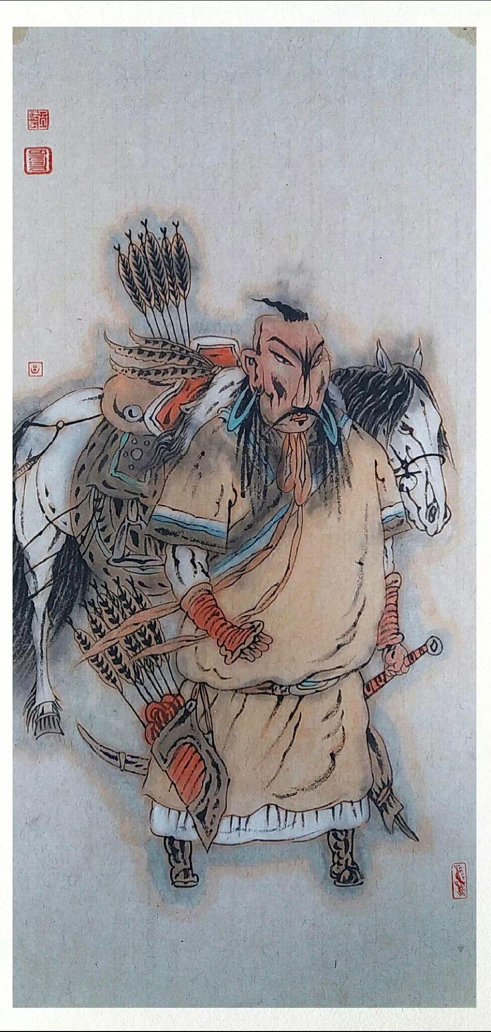 内蒙古当代美术家系列——白嘎力中国画作品选 第5张 内蒙古当代美术家系列——白嘎力中国画作品选 蒙古画廊