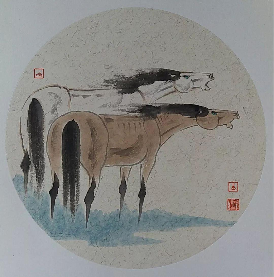 内蒙古当代美术家系列——白嘎力中国画作品选 第14张 内蒙古当代美术家系列——白嘎力中国画作品选 蒙古画廊