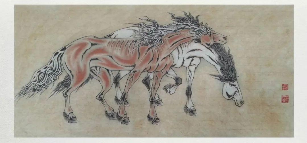 内蒙古当代美术家系列——白嘎力中国画作品选 第12张