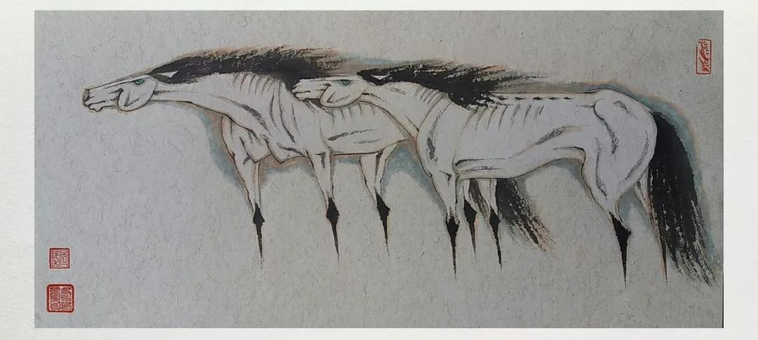内蒙古当代美术家系列——白嘎力中国画作品选 第13张 内蒙古当代美术家系列——白嘎力中国画作品选 蒙古画廊