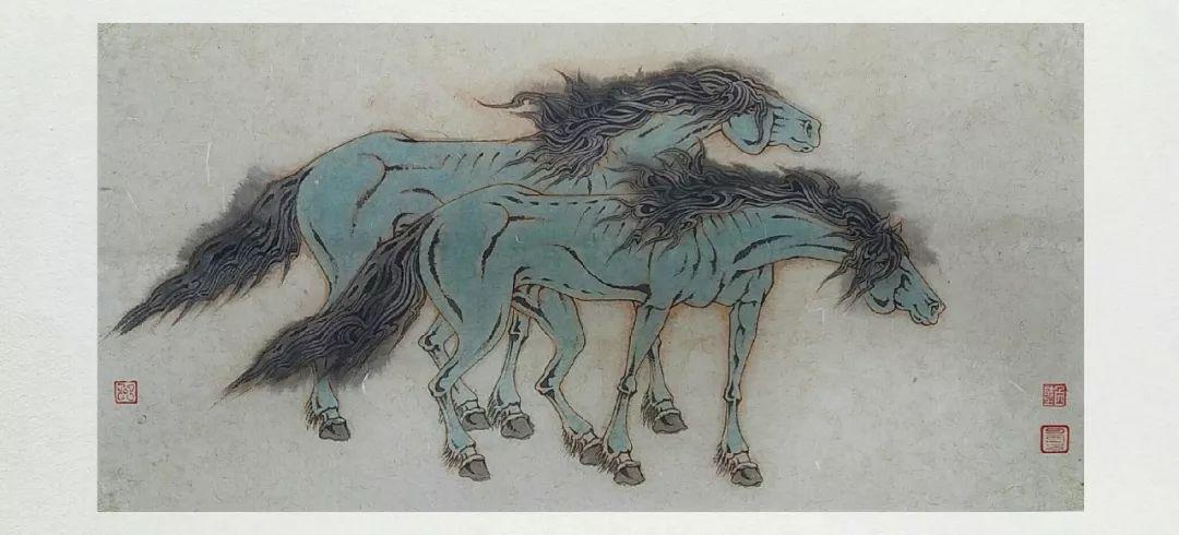 内蒙古当代美术家系列——白嘎力中国画作品选 第11张