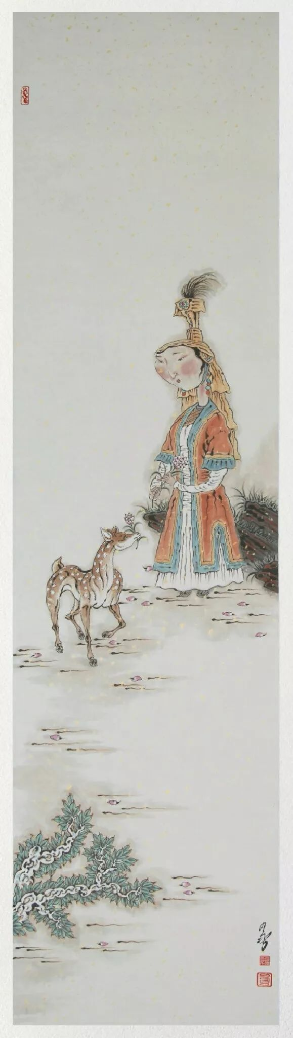 内蒙古当代美术家系列——白嘎力中国画作品选 第23张