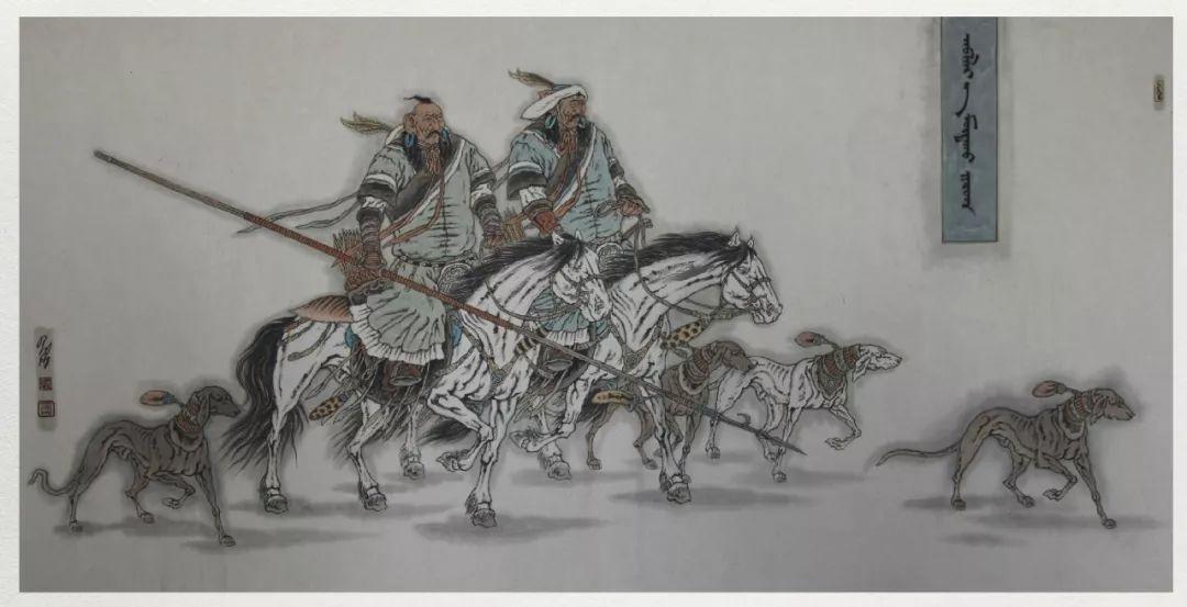内蒙古当代美术家系列——白嘎力中国画作品选 第30张 内蒙古当代美术家系列——白嘎力中国画作品选 蒙古画廊