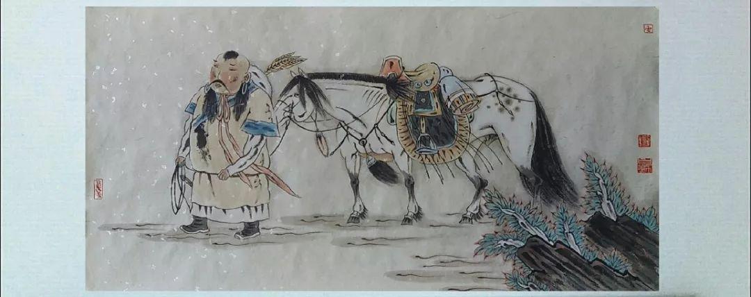 内蒙古当代美术家系列——白嘎力中国画作品选 第27张 内蒙古当代美术家系列——白嘎力中国画作品选 蒙古画廊