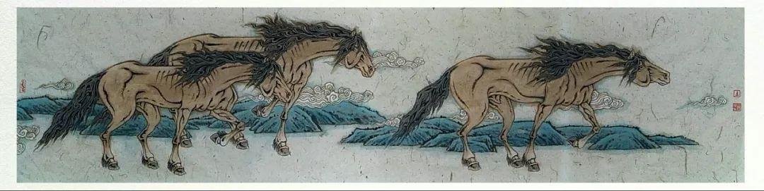 内蒙古当代美术家系列——白嘎力中国画作品选 第26张