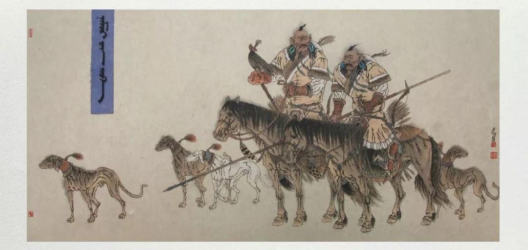 内蒙古当代美术家系列——白嘎力中国画作品选 第32张 内蒙古当代美术家系列——白嘎力中国画作品选 蒙古画廊