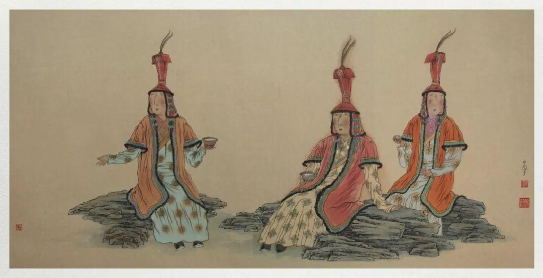 内蒙古当代美术家系列——白嘎力中国画作品选 第36张 内蒙古当代美术家系列——白嘎力中国画作品选 蒙古画廊