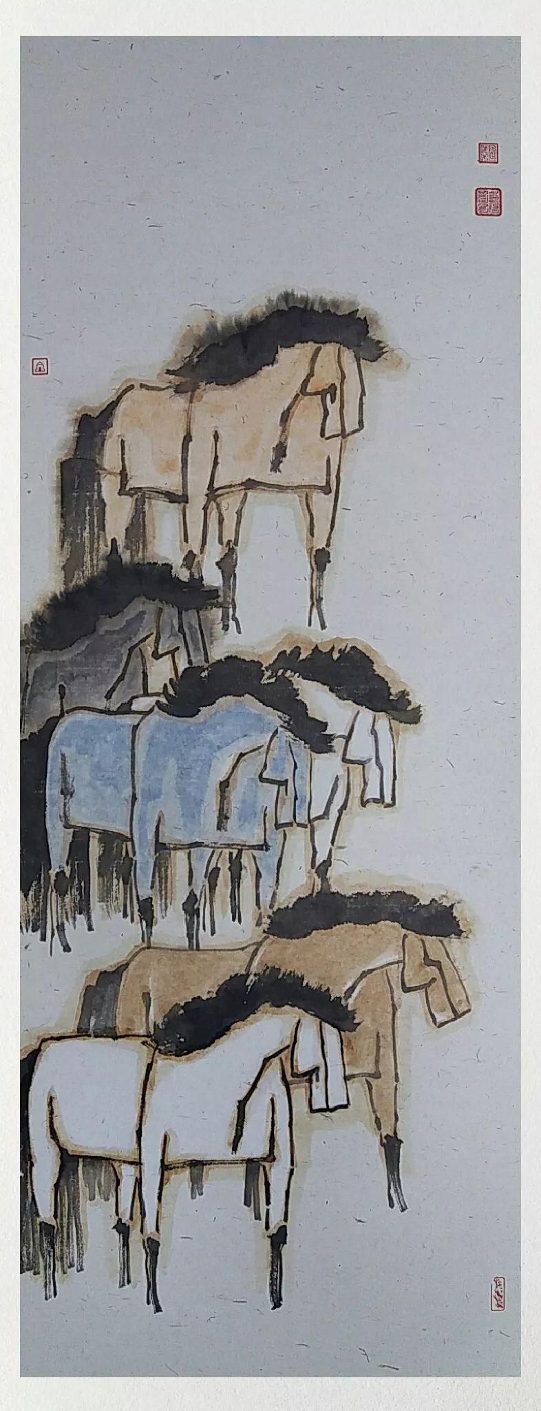 内蒙古当代美术家系列——白嘎力中国画作品选 第35张 内蒙古当代美术家系列——白嘎力中国画作品选 蒙古画廊