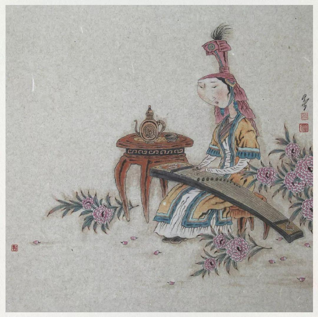 内蒙古当代美术家系列——白嘎力中国画作品选 第40张 内蒙古当代美术家系列——白嘎力中国画作品选 蒙古画廊