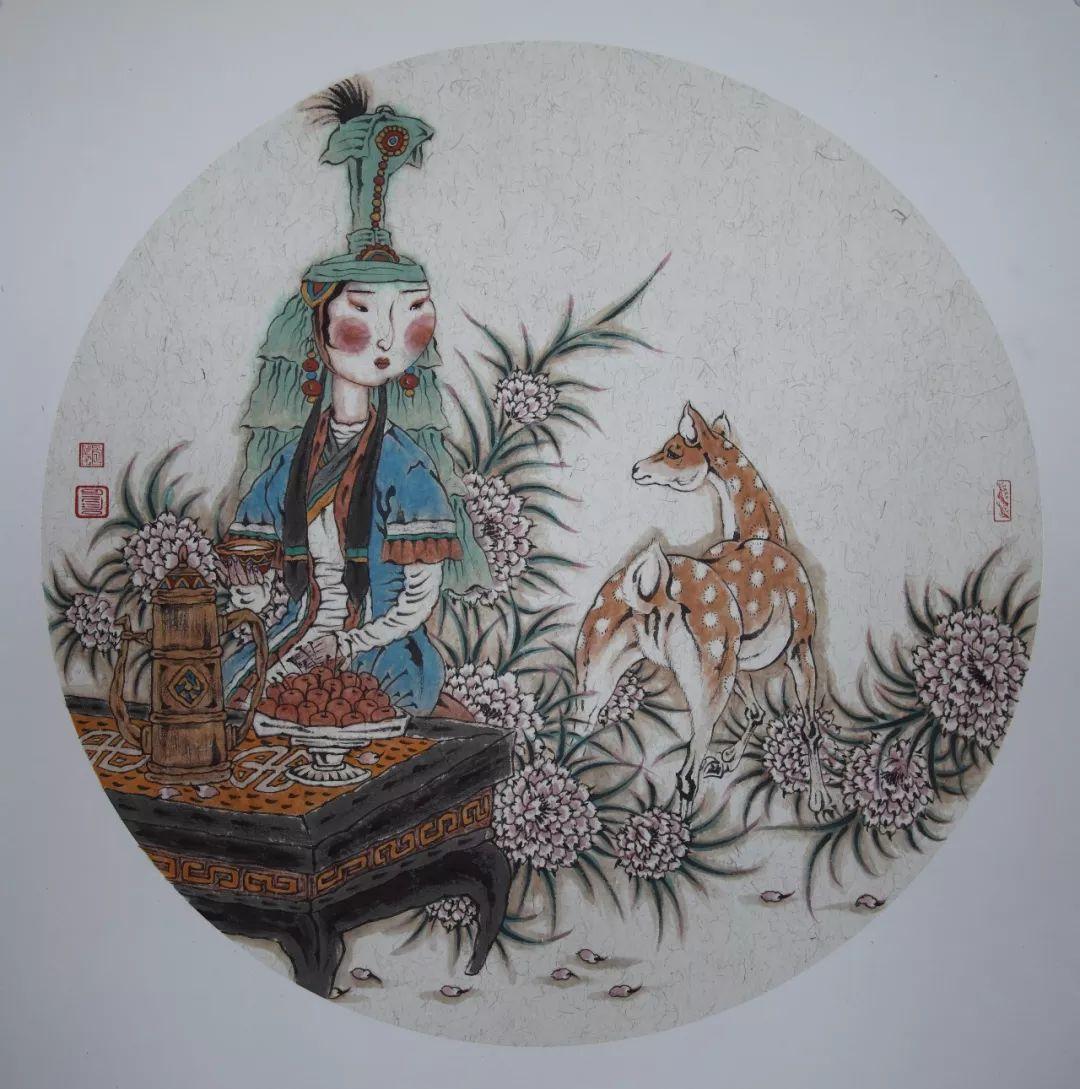 内蒙古当代美术家系列——白嘎力中国画作品选 第38张