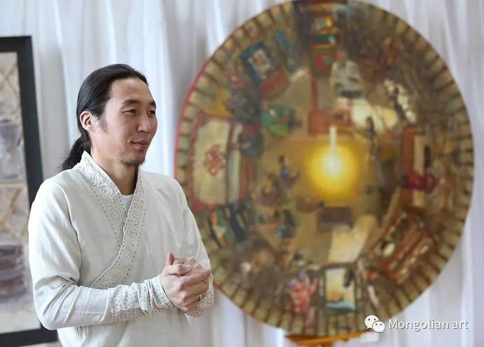 蒙古国美术家协会会员画家Б.Содномдаржаа 第1张 蒙古国美术家协会会员画家Б.Содномдаржаа 蒙古画廊