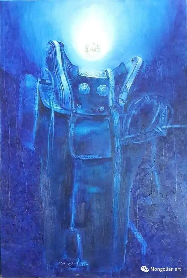 蒙古国美术家协会会员画家Б.Содномдаржаа 第6张 蒙古国美术家协会会员画家Б.Содномдаржаа 蒙古画廊