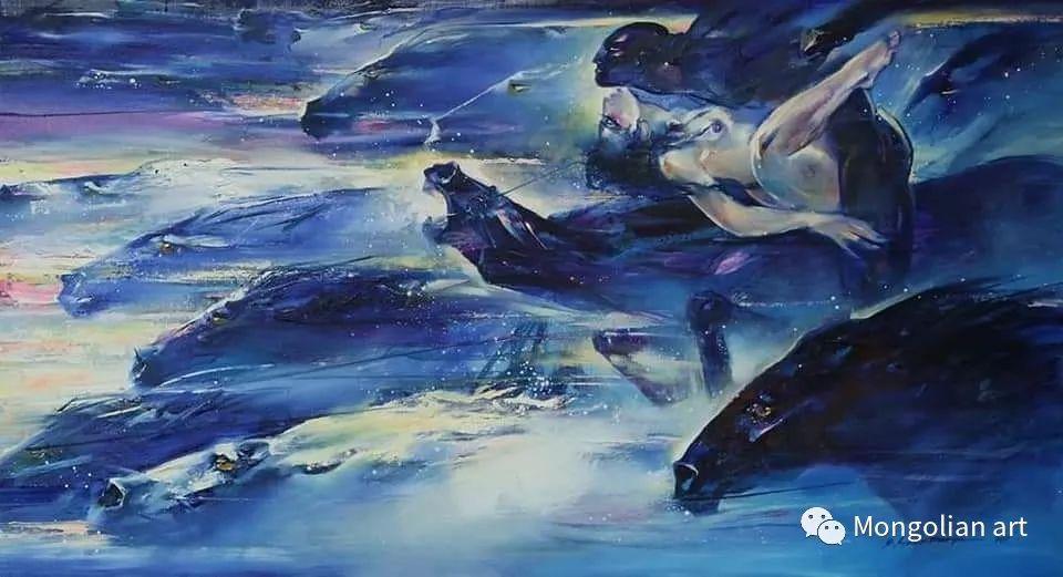 蒙古国美术家协会会员画家Б.Содномдаржаа 第4张 蒙古国美术家协会会员画家Б.Содномдаржаа 蒙古画廊